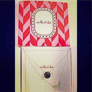 New In Box Stella & Dot Labradorite Maya Necklace
